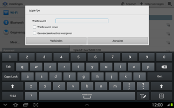 Samsung P5100 Galaxy Tab 2 10-1 - Wifi - handmatig instellen - Stap 6