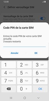 Samsung Galaxy S9 Android Pie - Sécurité - modifier SIM PIN - Étape 8
