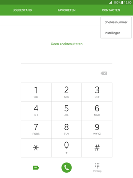 Samsung Galaxy Tab A 9.7 - Voicemail - Handmatig instellen - Stap 4
