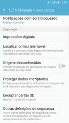 Samsung Galaxy S7 Edge - Segurança - Como ativar o código PIN do cartão de telemóvel -  5