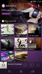 Sony Xpéria Z3 - Photos, vidéos, musique - Ecouter de la musique - Étape 4
