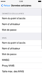Apple iPhone 5s - MMS - configuration manuelle - Étape 8