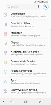 Samsung Galaxy S8 - Android Oreo - Wifi - handmatig instellen - Stap 3