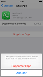 Apple iPhone 5 (iOS 8) - Applications - Supprimer une application - Étape 8