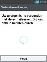 LG E430 Optimus L3 II - E-mail - e-mail instellen: IMAP (aanbevolen) - Stap 21