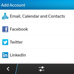 BlackBerry Q5 - Email - Manual configuration - Step 6