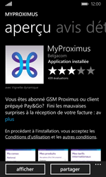 Microsoft Lumia 435 - Applications - MyProximus - Étape 9