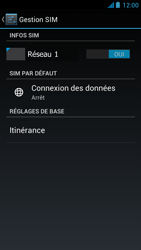 Acer Liquid E2 - Internet - Activer ou désactiver - Étape 7