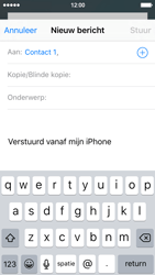 Apple iPhone 5 met iOS 9 (Model A1429) - E-mail - Hoe te versturen - Stap 6