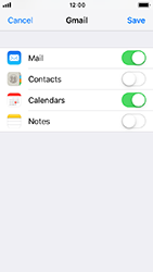 Apple iPhone 5s - iOS 12 - E-mail - Manual configuration (gmail) - Step 8