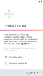 BQ Aquaris U - Primeiros passos - Como ligar o telemóvel pela primeira vez -  19