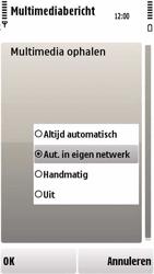 Nokia 5230 - MMS - probleem met ontvangen - Stap 9
