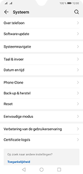 Huawei Mate 20 - Data - Maak een back-up met je account - Stap 4