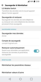 LG Q6 - Device maintenance - Back up - Étape 11