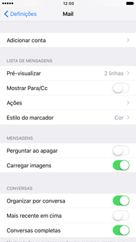 Apple iPhone 7 Plus - Email - Configurar a conta de Email -  5
