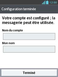 LG E430 Optimus L3 II - E-mail - Configuration manuelle - Étape 21