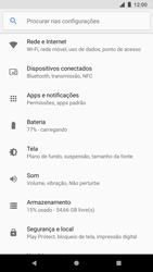 Google Pixel 2 - Wi-Fi - Como usar seu aparelho como um roteador de rede wi-fi - Etapa 4