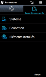 Samsung I8000 Omnia II - Internet - configuration manuelle - Étape 5