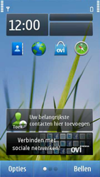 Nokia C7-00 - Applicaties - Applicaties downloaden - Stap 1
