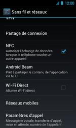 Acer Liquid Glow E330 - Messagerie vocale - Configuration manuelle - Étape 5