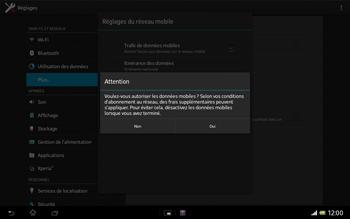 Sony SGP321 Xperia Tablet Z LTE - Internet - configuration manuelle - Étape 8