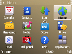 Nokia E72 - Internet - Manual configuration - Step 20