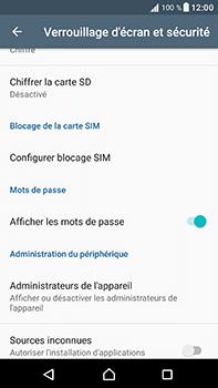 Sony Xperia XA1 Ultra - Sécuriser votre mobile - Personnaliser le code PIN de votre carte SIM - Étape 5