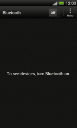 HTC T320e One V - Bluetooth - Pair with another device - Step 5