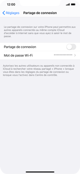 Apple iPhone XS Max - iOS 13 - Internet - comment configurer un point d'accès mobile - Étape 6