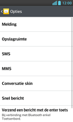 LG E460 Optimus L5 II - SMS - Handmatig instellen - Stap 6