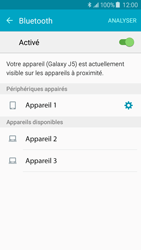 Samsung J500F Galaxy J5 - Bluetooth - connexion Bluetooth - Étape 10