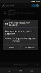 Sony C6603 Xperia Z - Bluetooth - connexion Bluetooth - Étape 9