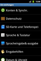 Samsung Galaxy Ace - Basisfunktionen - Hard- und Softreset - Schritt 5