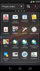Sony Xperia L - Internet - Ver uso de datos - Paso 3