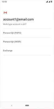 Nokia 3-1-plus-dual-sim-ta-1104-android-pie - E-mail - Account instellen (IMAP met SMTP-verificatie) - Stap 10