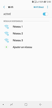 Samsung Galaxy J6 - Internet et connexion - Accéder au réseau Wi-Fi - Étape 7