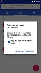 Nokia 3 - Chamadas - Como bloquear chamadas de um número -  6
