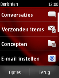 Nokia Asha 300 - E-mail - Handmatig instellen - Stap 4