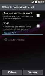 LG F70 - Premiers pas - Créer un compte - Étape 3