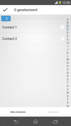 Sony Xperia M2 4G (D2303) - Contacten en data - Contacten kopiëren van toestel naar SIM - Stap 7
