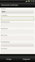 HTC S720e One X - E-mail - Handmatig instellen - Stap 8