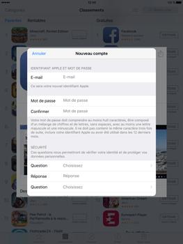 Apple iPad Pro (9.7) - Applications - Télécharger des applications - Étape 11