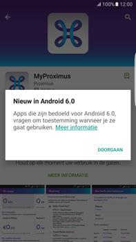 Samsung Galaxy S6 edge+ - Android M - Applicaties - MyProximus - Stap 9