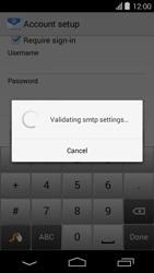 Acer Liquid E600 - Email - Manual configuration - Step 16
