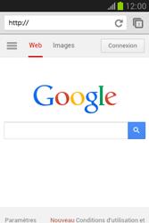 Samsung S6790 Galaxy Fame Lite - Internet - navigation sur Internet - Étape 10