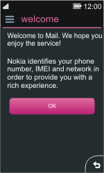 Nokia Asha 311 - E-mail - Manual configuration - Step 4