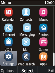 Nokia C2-05 - MMS - Manual configuration - Step 3