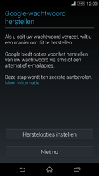 Sony Xperia Z3 4G (D6603) - Applicaties - Account aanmaken - Stap 12