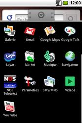 Samsung I7500 Galaxy - Messagerie vocale - Configuration manuelle - Étape 3