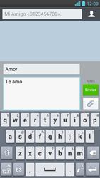 LG Optimus L9 - Mensajería - Escribir y enviar un mensaje multimedia - Paso 13